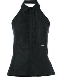 schwarzes Hemd von Dsquared2
