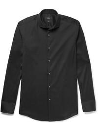 schwarzes Hemd von Hugo Boss