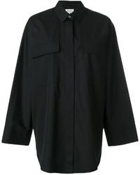 schwarzes Hemd von Maison Margiela