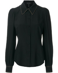 schwarzes Hemd von Marc Jacobs