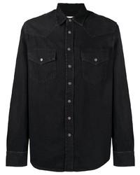 schwarzes Jeanshemd von Diesel