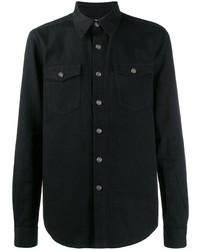 schwarzes Jeanshemd von Givenchy