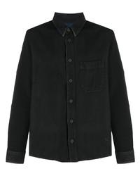 schwarzes Jeanshemd von Off-White