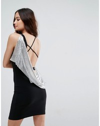 schwarzes Kleid von Asos