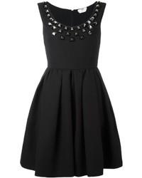 schwarzes Kleid von Fendi