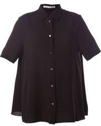 schwarzes Kurzarmhemd von Acne Studios