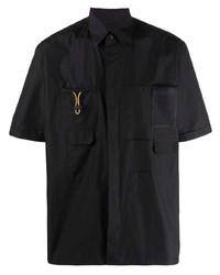 schwarzes Kurzarmhemd von Fendi