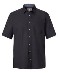 schwarzes Kurzarmhemd von Jan Vanderstorm