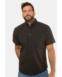 schwarzes Kurzarmhemd von JP1880