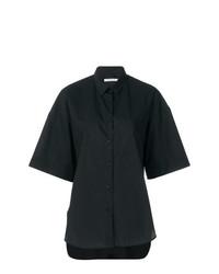 schwarzes Kurzarmhemd von Lareida