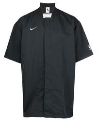 schwarzes Kurzarmhemd von Nike