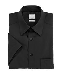 schwarzes Kurzarmhemd von Olymp