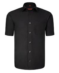 schwarzes Kurzarmhemd von Signum