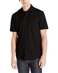 schwarzes Kurzarmhemd von Volcom