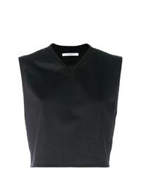 schwarzes kurzes Oberteil von Givenchy