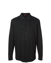 schwarzes Langarmhemd von Barena