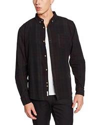 Schwarzes Langarmhemd von Bellfield