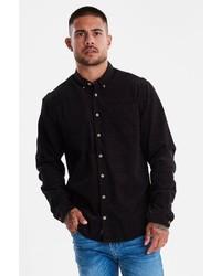 schwarzes Langarmhemd von BLEND