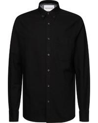 schwarzes Langarmhemd von Calvin Klein Jeans