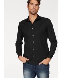 schwarzes Langarmhemd von Esprit