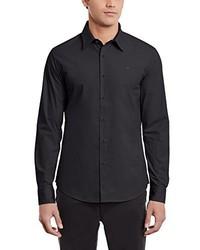 schwarzes Langarmhemd von G-Star RAW