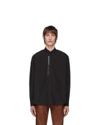 schwarzes Langarmhemd von Givenchy