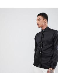 schwarzes Langarmhemd von Heart & Dagger