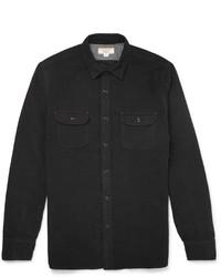 schwarzes Langarmhemd von J.Crew