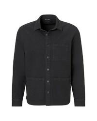 schwarzes Langarmhemd von Marc O'Polo