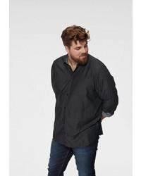 schwarzes Langarmhemd von Tom Tailor Denim
