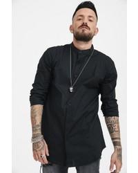 schwarzes Langarmhemd von TRUEPRODIGY
