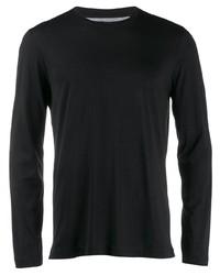schwarzes Langarmshirt von Brunello Cucinelli