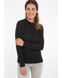 schwarzes Langarmshirt von Mexx