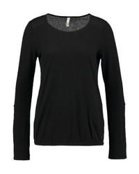 schwarzes Langarmshirt von s.Oliver