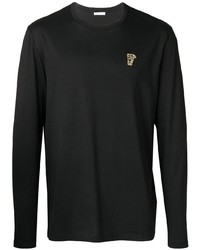 schwarzes Langarmshirt von Versace Collection