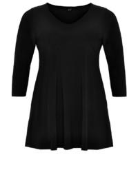 schwarzes Langarmshirt von Yoek