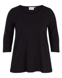 schwarzes Langarmshirt von Zizzi