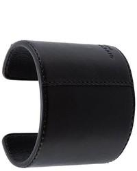 schwarzes Lederarmband von Givenchy