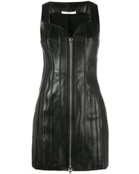 schwarzes Lederkleid von Givenchy