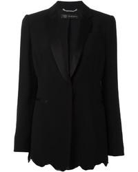 schwarzes Paillettensakko von Versace