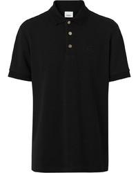 schwarzes Polohemd von Burberry