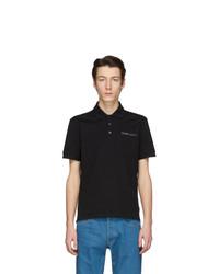 schwarzes Polohemd von Givenchy