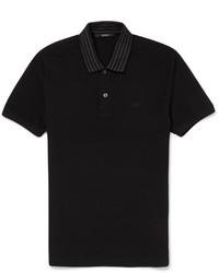 schwarzes Polohemd von Gucci