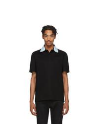 schwarzes Polohemd von Lanvin