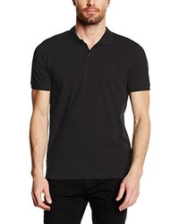 schwarzes Polohemd von ONLY & SONS