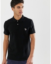 schwarzes Polohemd von PS Paul Smith