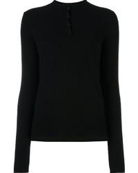 schwarzes Polohemd von Rag & Bone