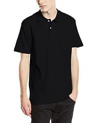 schwarzes Polohemd von Stedman Apparel