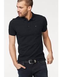 schwarzes Polohemd von Tommy Jeans
