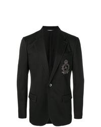 schwarzes Sakko von Dolce & Gabbana